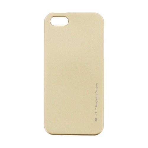 iPhone 5 / 5S / SE TPU case I Jelly Metallic