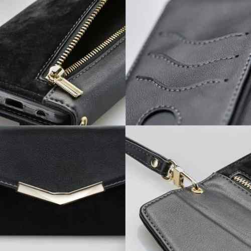 Mobilize 2in1 Gelly Velvet Clutch for Apple iPhone 12 Pro Max Deep Black