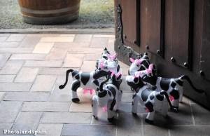 Vacas hinchables