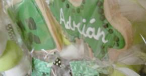 Galletas de Creeper para Adrián