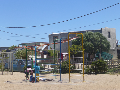 Playground in Masiphumelele in Cape Town