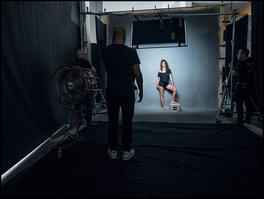 2017 Pirelli Calendar making of