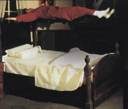 Cama de El Exorcista