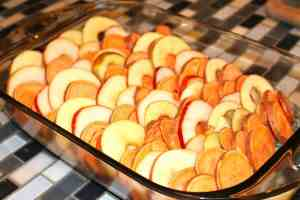 Spiced Apple, Sweet Potato and Pear Casserole, Mom Explores The Smokies