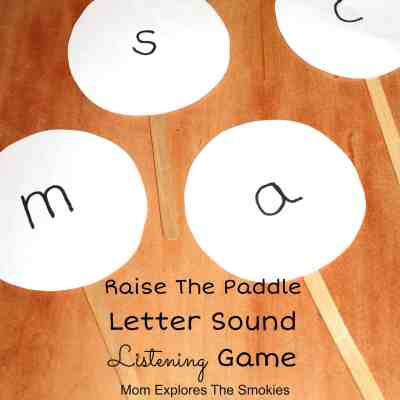 Letter Sound Listening Game