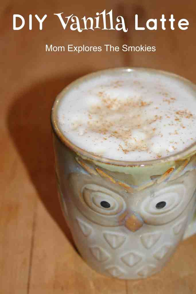 DIY Vanilla Latte Recipe, Mom Explores The Smokies