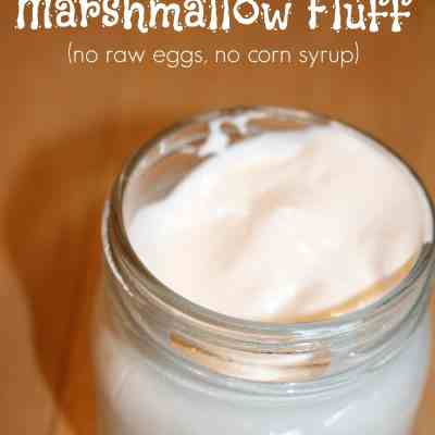 Homemade Marshmallow Fluff