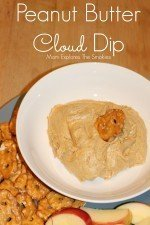 Peanut Butter Cloud Dip
