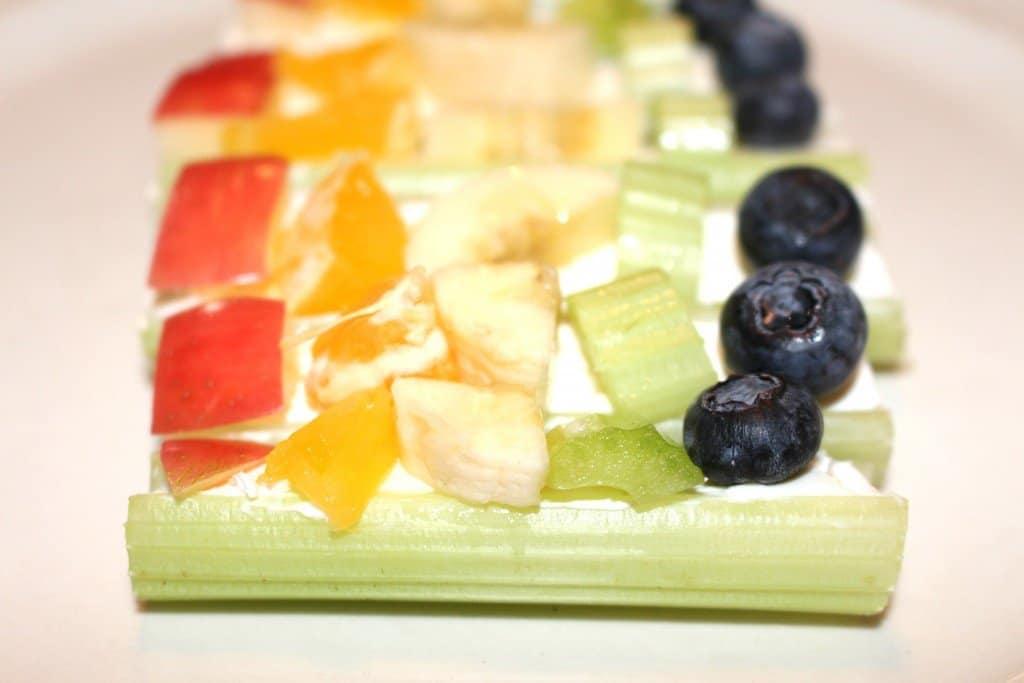 Cooking With Kids Celery Snack, Mom Explores The Smokies