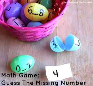 Math Game: Guess The Missing Number, Mom Explores The Smokies