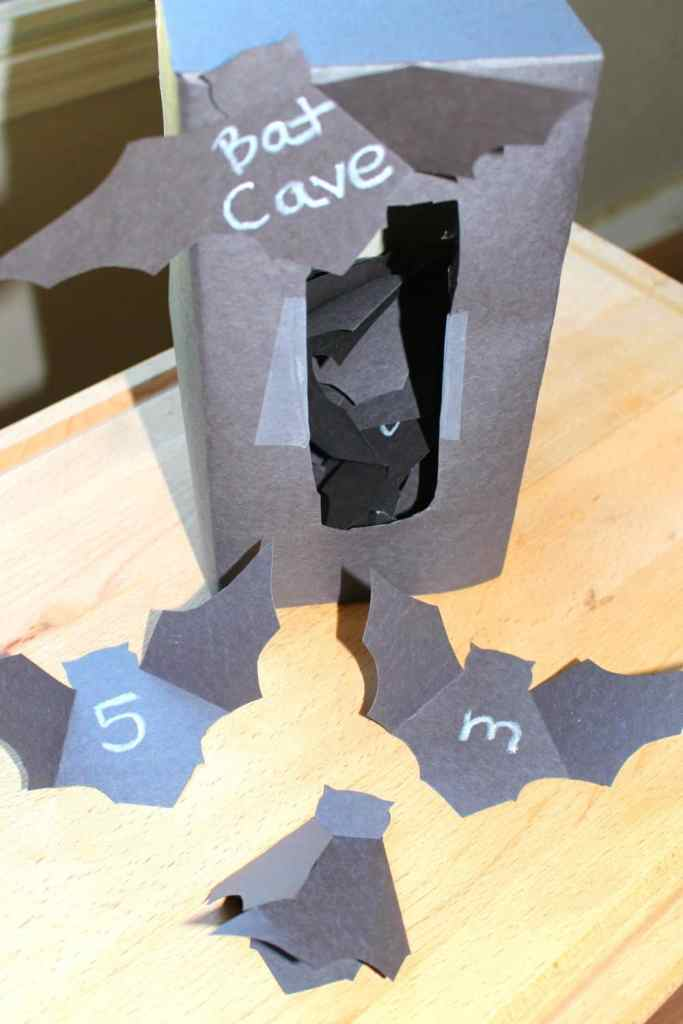Bat Cave Letters & Numbers, Mom Explores The Smokies