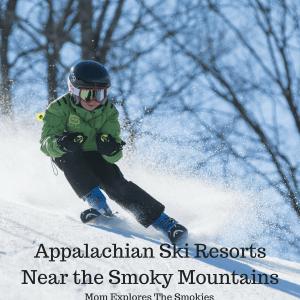 Ski Resorts Near The Smoky Mountains and Knoxville, Mom Explores The Smokies