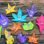Silly Leaf Monsters Family Craft