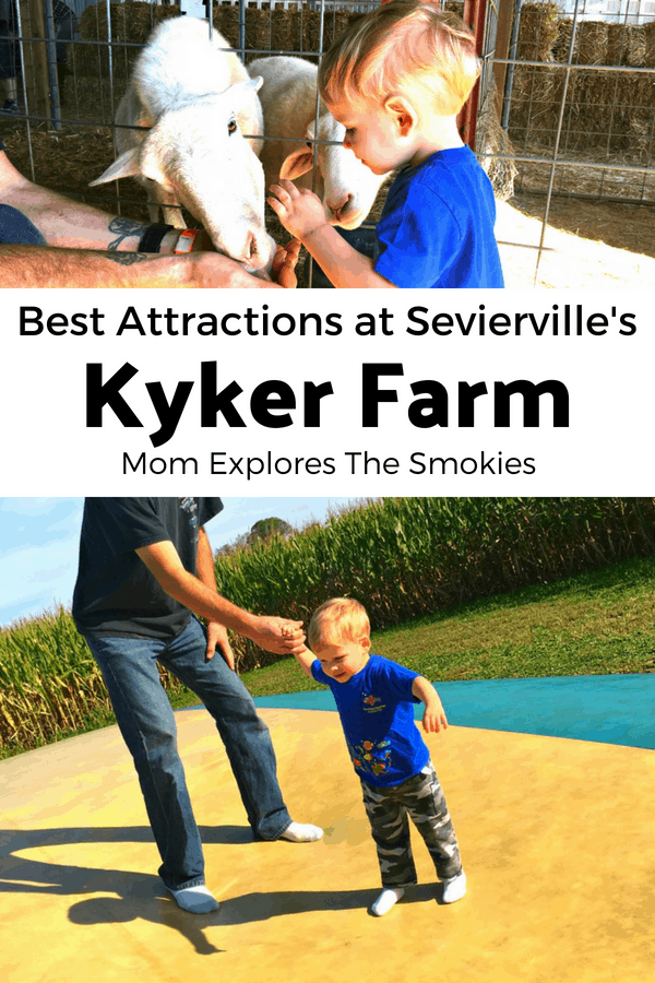 Best Attractions at Kyker Farm in Sevierville Tennessee, Mon Explores The Smokies