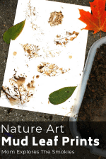 Leaf Prints Mud Craft