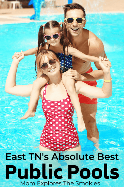 20 + Fabulous Public Pools in Knoxville, TN and the Surrounding Counties