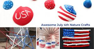 10 + Patriotic Nature Crafts, Mom Explores The Smokies