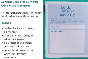 Summer Adventure Passport