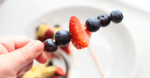 Patriotic July 4th Fruit Skewers, Mom Explores The Smokies