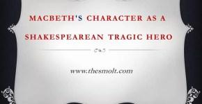 Macbeth as a Shakespearean tragedy
