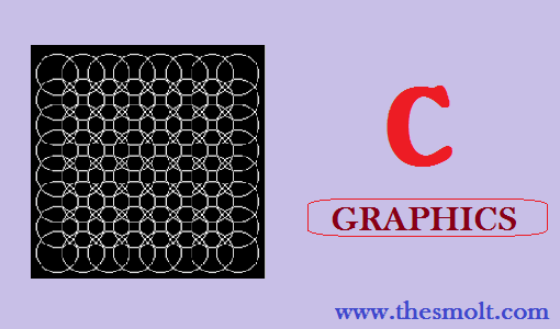 Draw a circle in the circle in C
