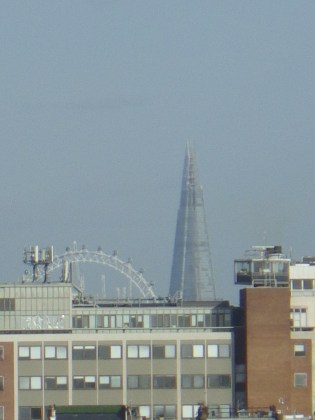 The London Eye and The Shard
