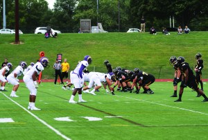 MU lines up the offense against the Rams. Blair Simon/Snapper