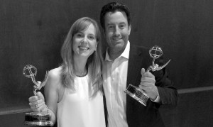 with wife, wins 2015 midatlantic emmy_edit