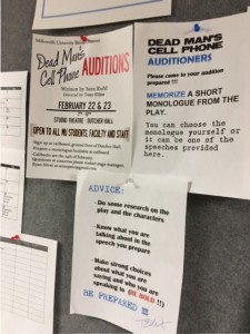 Students from any department are welcome to audition. (Allie Remis/Snapper)