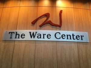 Multiple art professors showcased their artwork at the Ware Center on Friday.