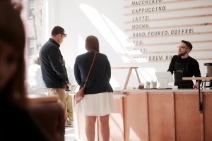 Passenger Coffee recently opened near Central Market. (Rachel Adshead/Snapper)