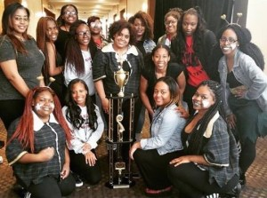 FUSION won a trophy in the National Step Competition (NSA) in Memphis, TN. (Maggi Mumma/Snapper)