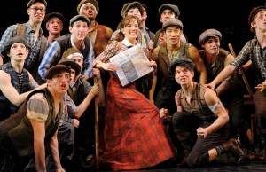 """""""Newsies"""" depicts the life of newsboys during the 1899 Newsboys Strike in New York. (Photo Courtesy of thedisneyblog.com)"""