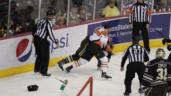 Why Fighting Belongs In Hockey The Snapper Millersville University