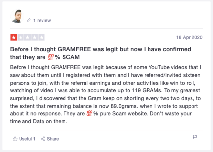 A review of GramFree.