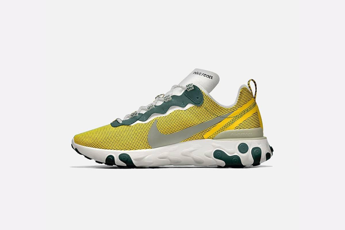 meilleure sélection a7775 cc354 Customisez votre paire de Nike React Element 55 | THE ...