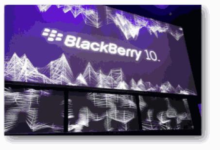BlackBerry 10 Event
