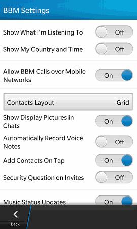 BBM BlackBerry 10