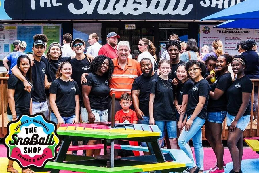 The SnoBall Shop Family Photo