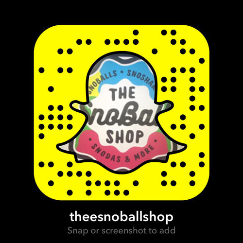 The SnoBall Shop Snapchat Photo