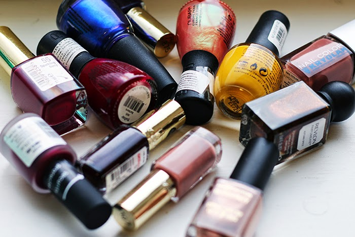 Favourite Lipsticks and Nail paints – Winter 2014