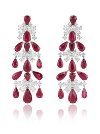 Red Carpet chandelier earrings 849891-1001