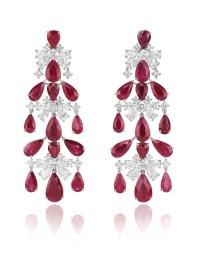 Red Carpet chandelier earrings 849891-1001