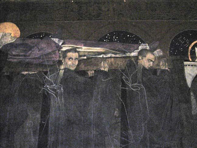 St Odilo's funeral procession