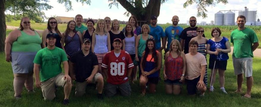 Image of Lauren Gibilisco's class reunion.