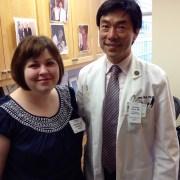Lauren Gibilisco and Dr. Urano