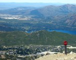 View from Cerro Catedral, Bariloche