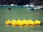 Boats in a row, Cinque Terre