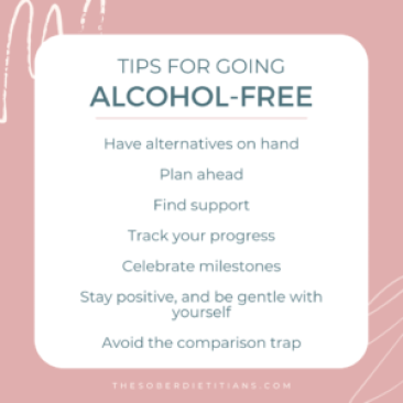 alcohol free tips