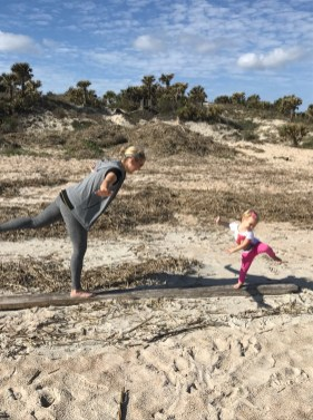 Beach time with Skylar 2017